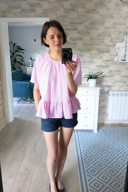 Ruffle blouse | bluzeczka