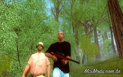 mod endless summer hunt hunter caça caçar animais floresta gta