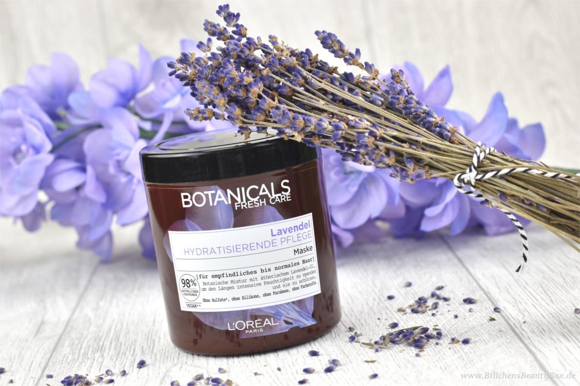 Review und Erfahrungsbericht zur L'Oréal Botanicals Lavendel Haarpflege Maske