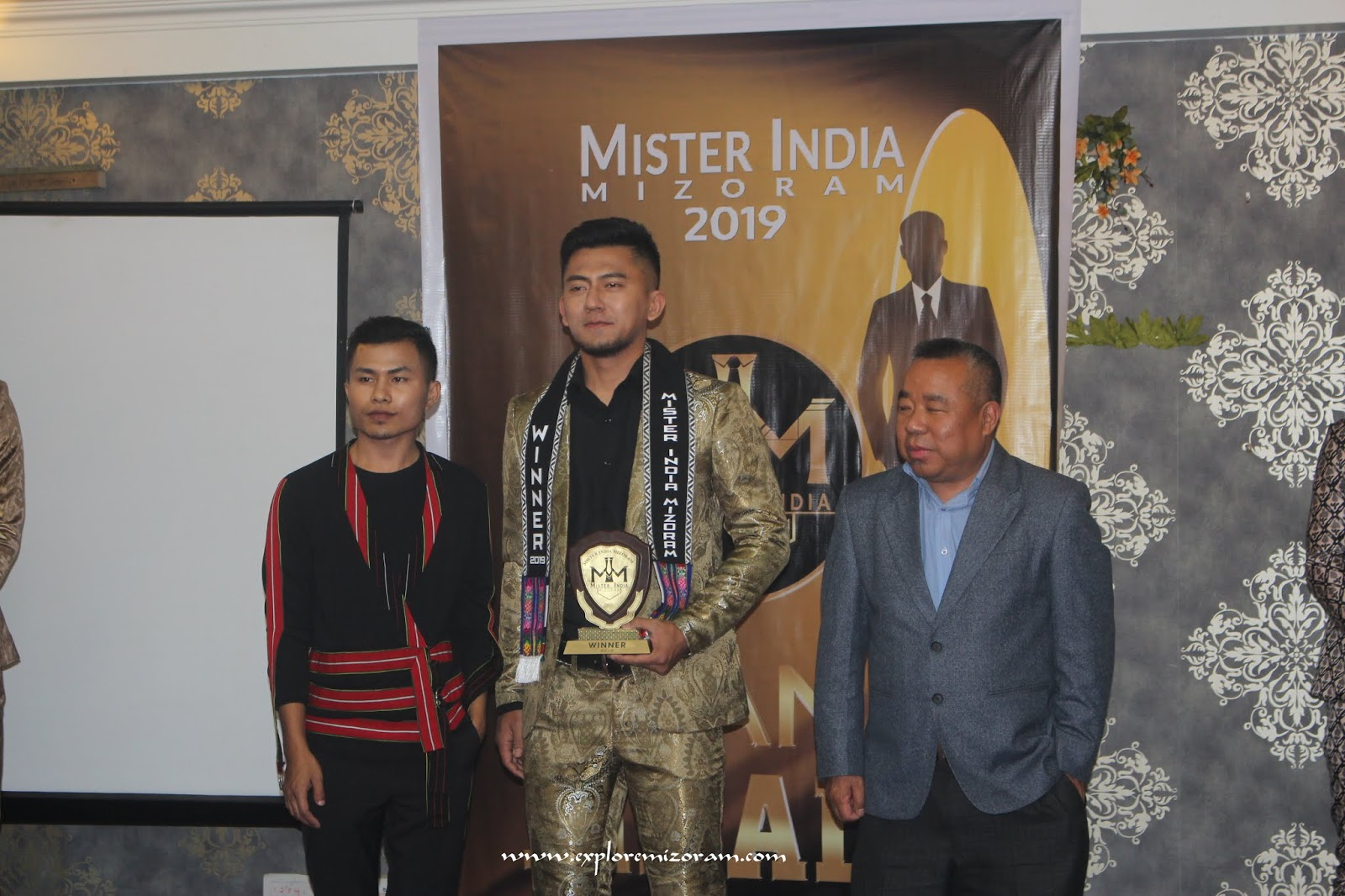 JONATHAN LALMUANPUIA THANGEO : Mister India Mizoram 2019