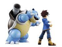 "Abierto el pre-order de Gary y Blastoise G.E.M. de ""Pokemon"" - MegaHouse"
