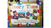 Storytime Ages 1-4 Tuesday mornings at 10:30.