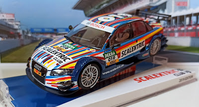 Audi A4 DTM Club Scalextric 2019
