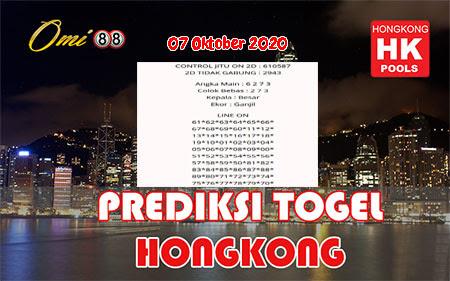 Prediksi Omi88 HK Rabu 07 Oktober 2020