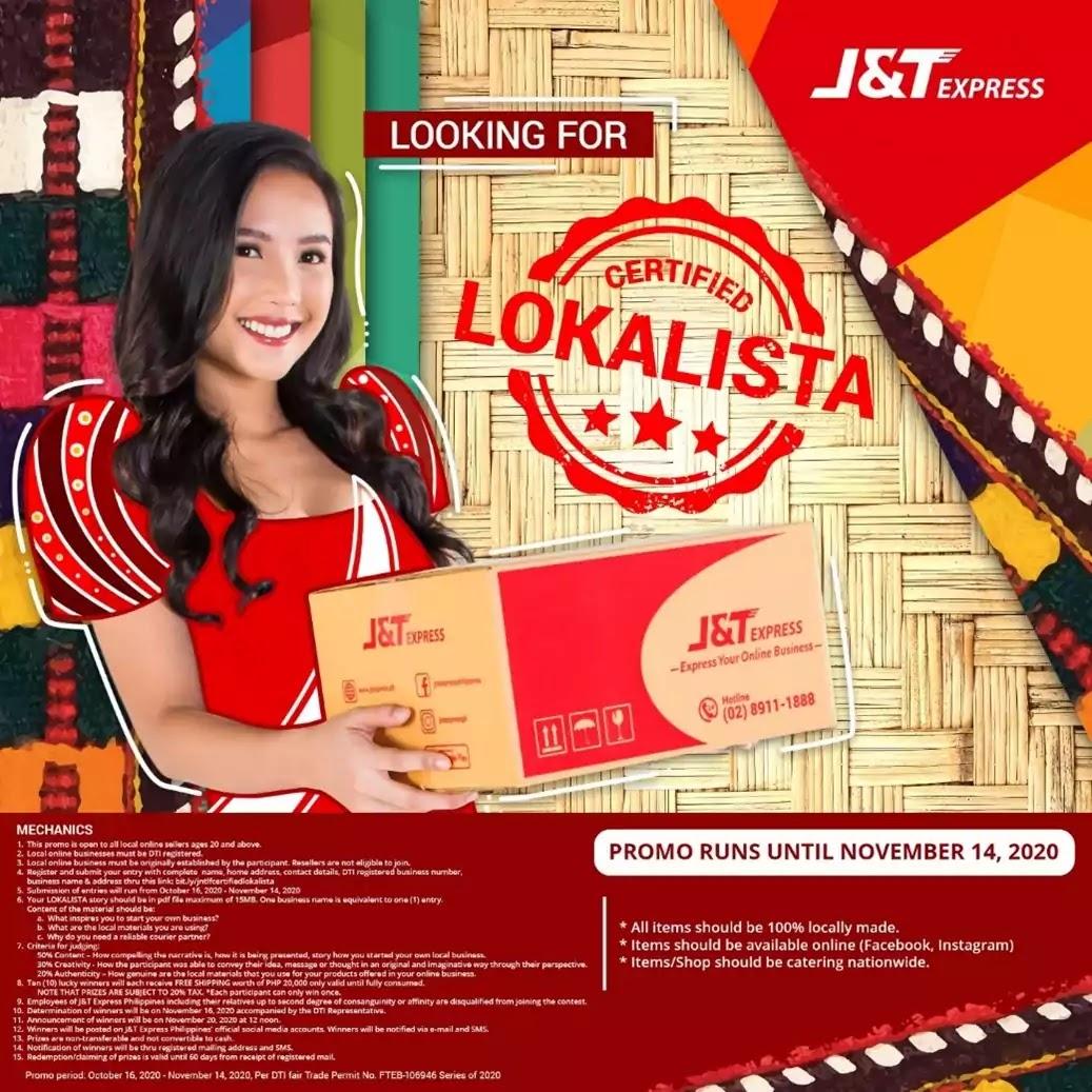 J&T Express #CertifiedLokalista