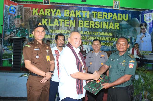 Acara Penutupan Karya Bhakti Terpadu Klaten Bersinar