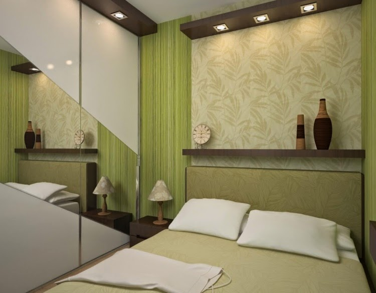 Fotos de lindos dormitorios matrimoniales peque os - Aprovechar espacio habitacion pequena ...
