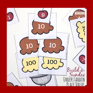 Bluild a Place Value Sundae Math Games