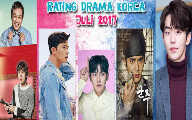 Rating Drama Korea Terbaru Juli 2017 (Minggu Ke 2)