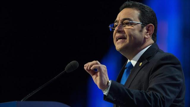 Jimmy Morales se niega a dimitir pese a las peticiones del pueblo