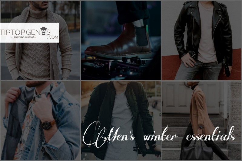An image for aticle title on men's winter attire.