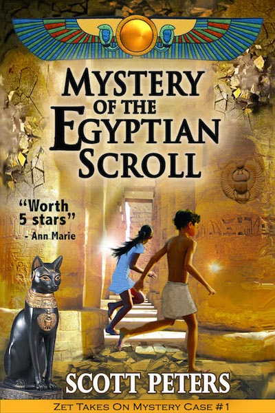 Mystery of the Egyptian Scroll by Scott Peters
