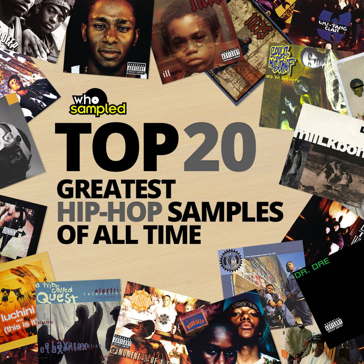 The 20 Greatest Hip Hop Samples of All Time | WhoSampled Mixtape