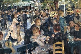 Paris : Les artistes au Moulin de la Galette - XVIIIème