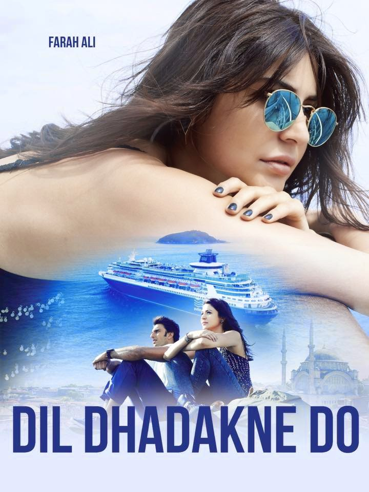 Dil Dhadakne Do role of Anushka Sharma as Farah Ali
