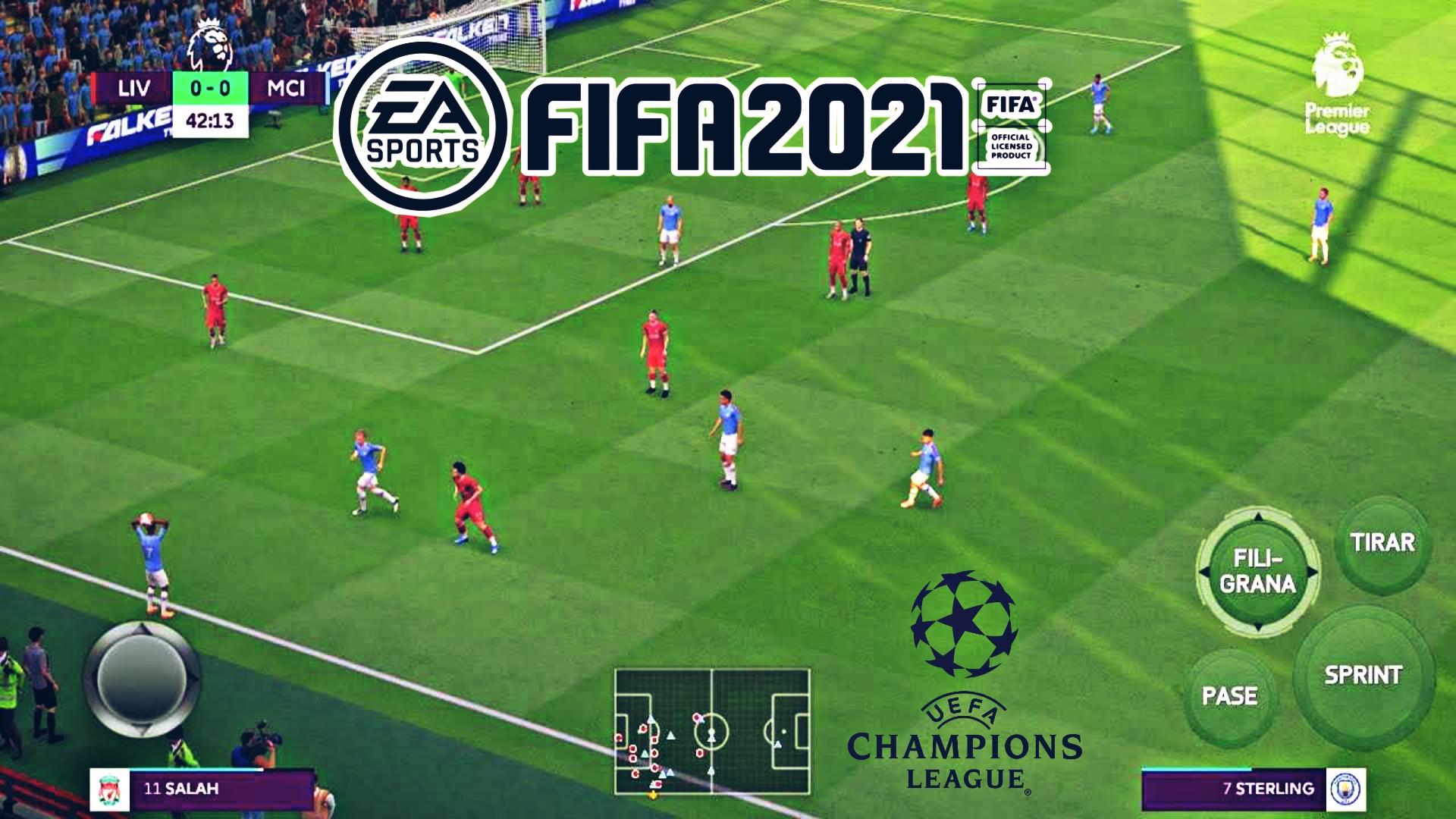 تحميل لعبة فيفا 2021 FIFA بمميزات رهيبة و بكاميرى PS5 جرافيك +FHD