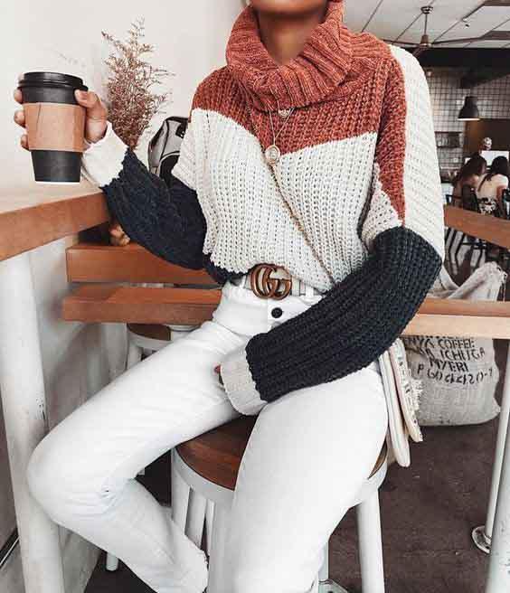 8 ideias de looks sofisticados e comfy com tricot