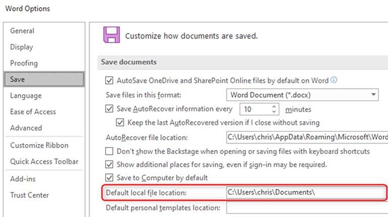 Cara Menyimpan Dokumen Microsoft Office Ke This PC Secara Default