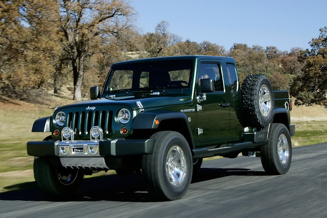 Jeep Ceo Says Pickup Model A Possibility For 2015