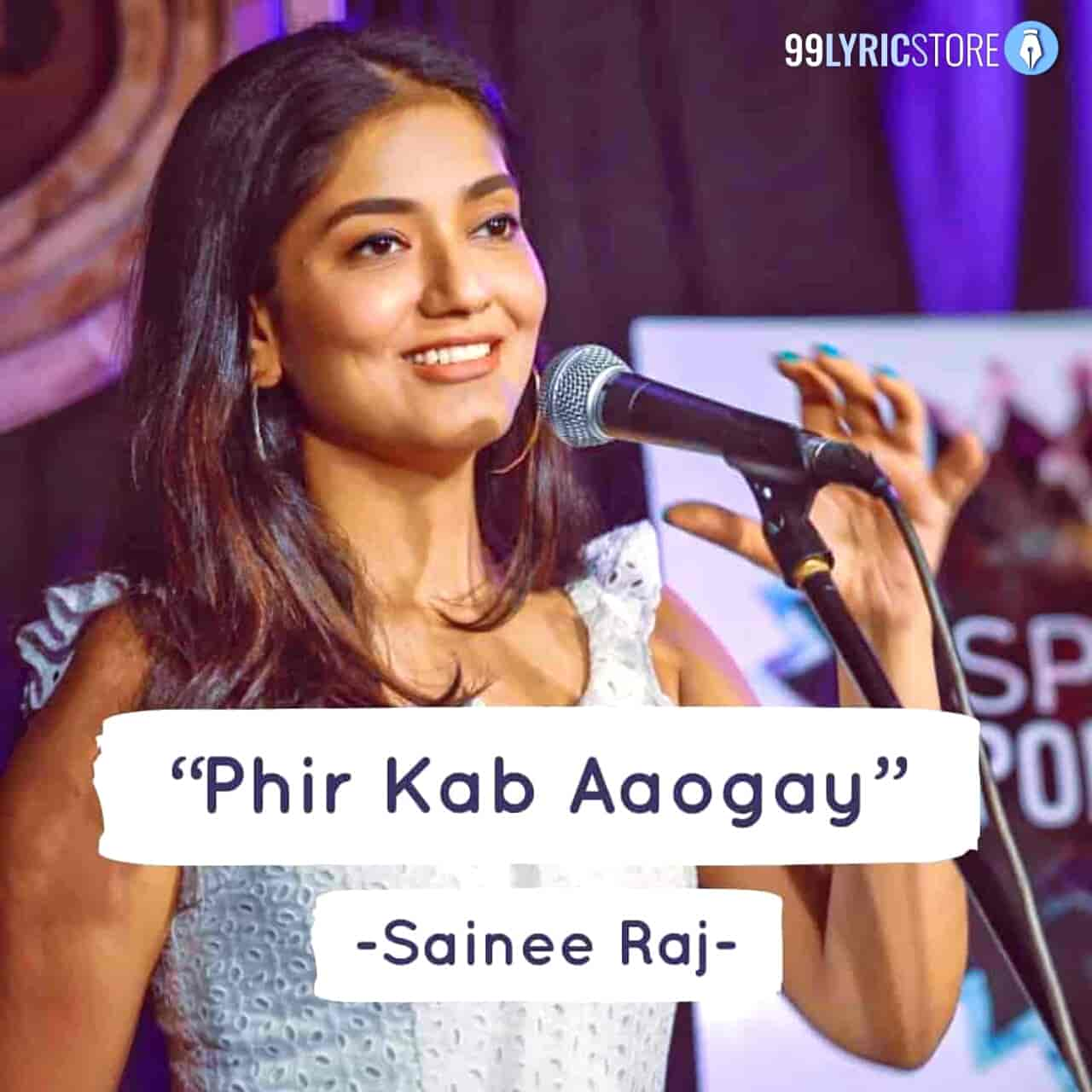This love Poetry 'Phir Kab Aaogey' has written and performed by Sainee Raj under the label of Spill Poetry