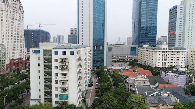 Hướng Đông Bắc nhìn sang Phạm Hùng, Keangnam Landmark 72