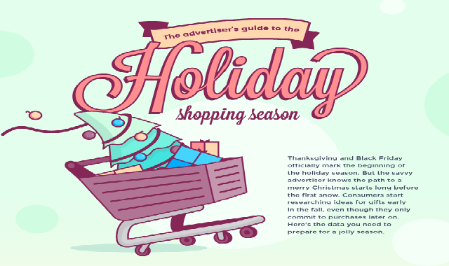 Advertising Tips For The Holiday Season #infographic