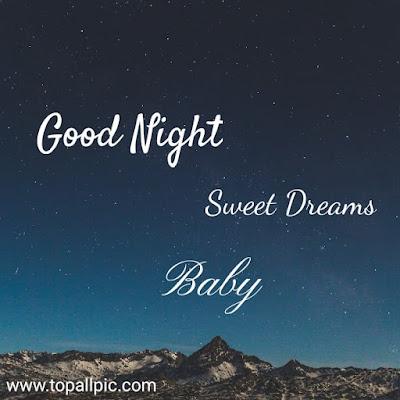 good night sweet dream baby photo