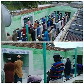 সুপার সাইক্লোন আম্পানে খালিয়া জামে মসজিদের দুরাবস্থা