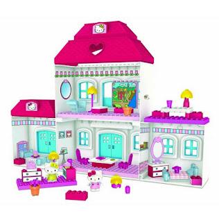 Gambar Rumah Hello Kitty Mainan 6