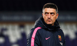 Barcelona B coach and Henry the two possible options to replace Quique Setien