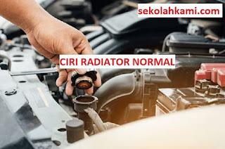 ciri radiator normal