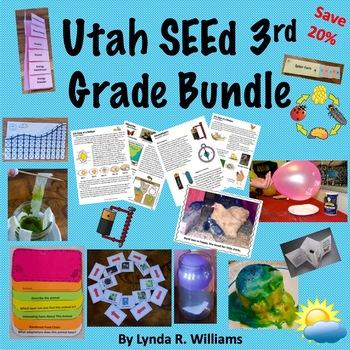 Utah SEEd third grade lessons