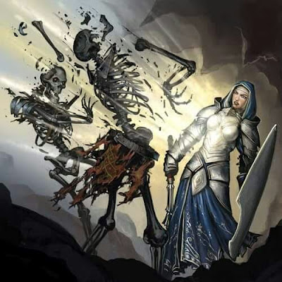 Introducción a las clases de Dungeons & Dragons - El Clérigo - Expulsar Muertos Vivientes