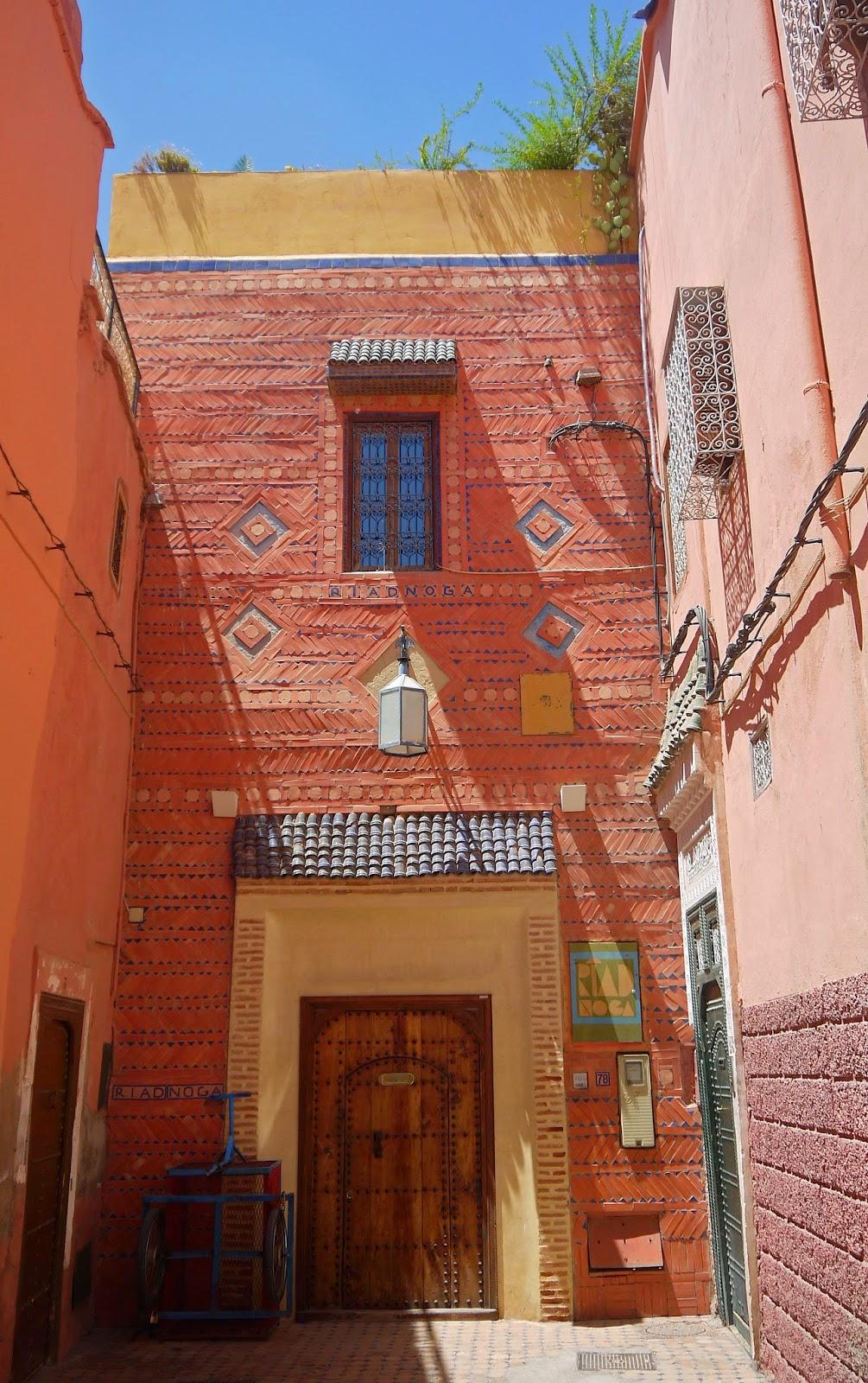 Doors to Riad Noga Marrakesh