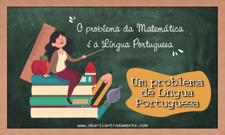 Um problema de língua portuguesa