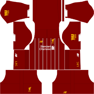 Liverpool 2019-2020 kit Dream League Soccer 2019