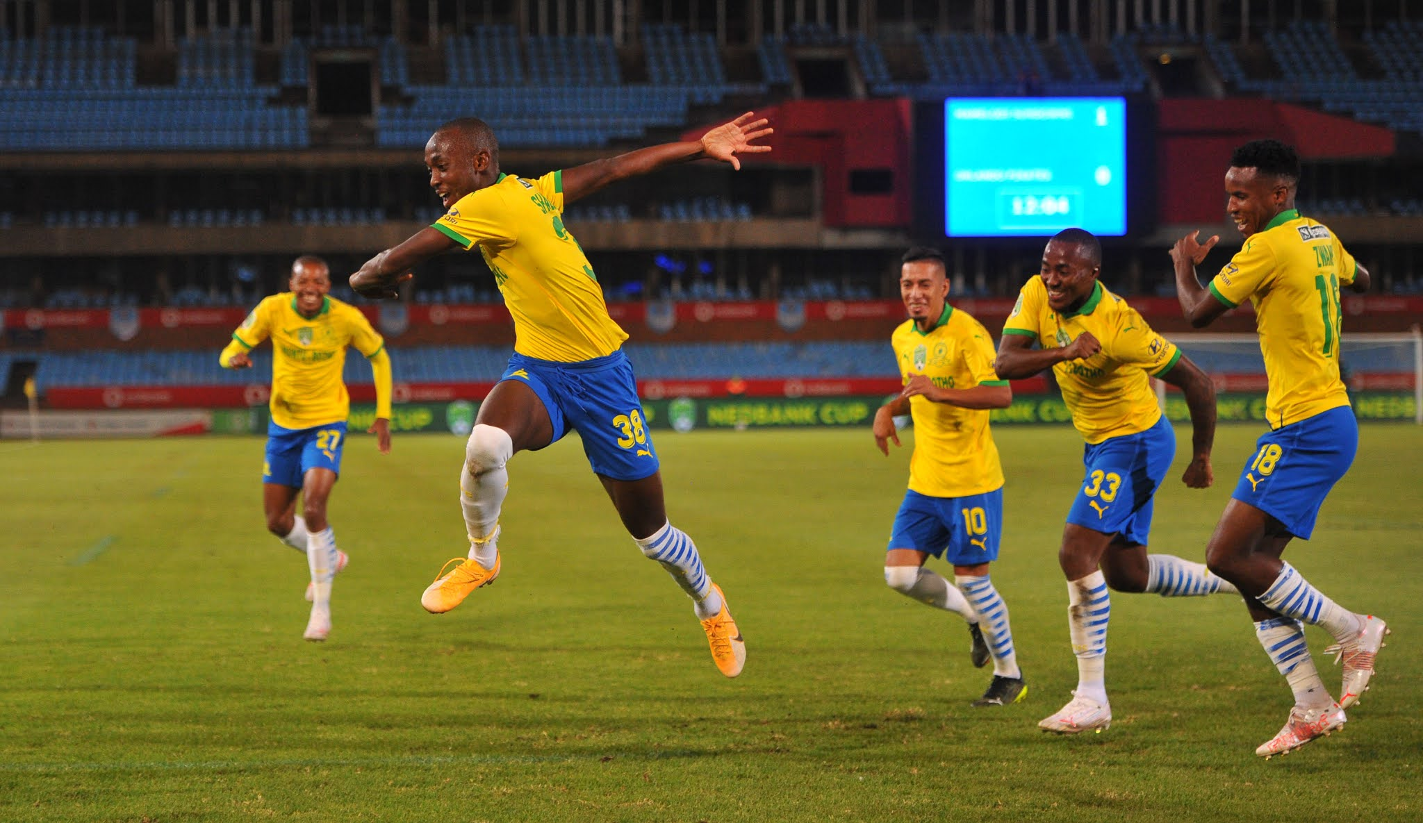 Masandawana face former boss Pitso Mosimane in a high stakes CAF Champions League knockout clash