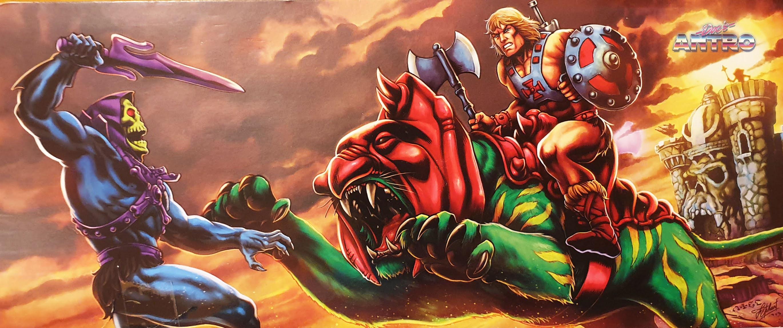 Battle Cat Masters of the Universe Origins MOTU Antro DocManhattan recensione