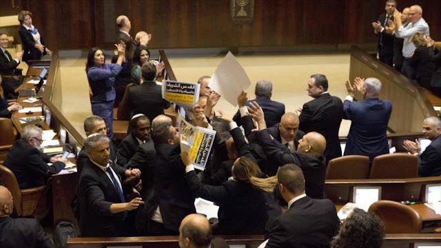 Diputados árabes protestan contra Pence en parlamento israelí