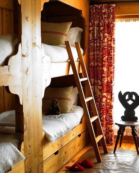Western Inspired Room Love The Headboard With Old Doors: Scandinavian Folk: Obsession: Scandinavian Box Beds