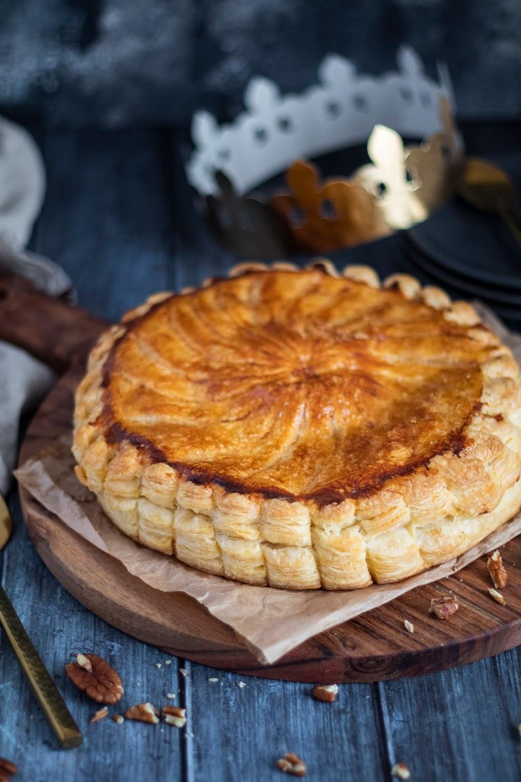 Recette de galette des rois au sirop d'érable et aux noix de pécan