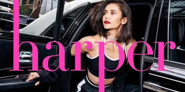 Nina Dobrev HQ PHOTO SHOOT for Harper's Bazaar Magazine, September 2017