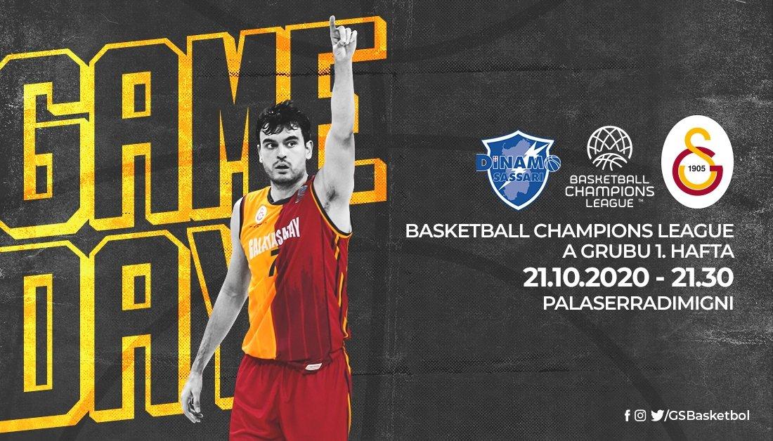 CANLI   Dinamo Sassari - Galatasaray