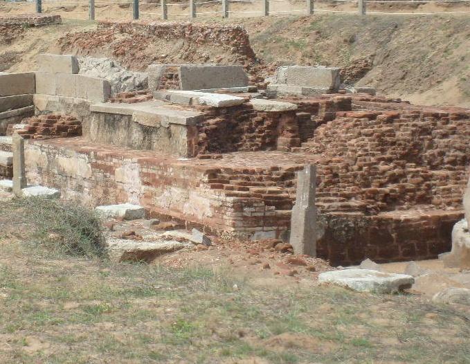 Sangam period Murugan temple unearthed at Mahabalipuram