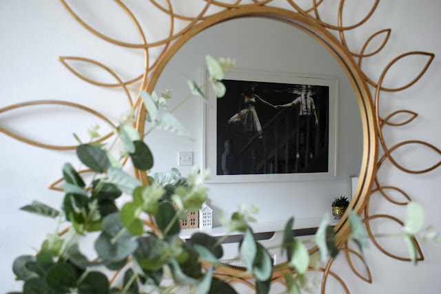 budget hall entryway modern eclectic makeover