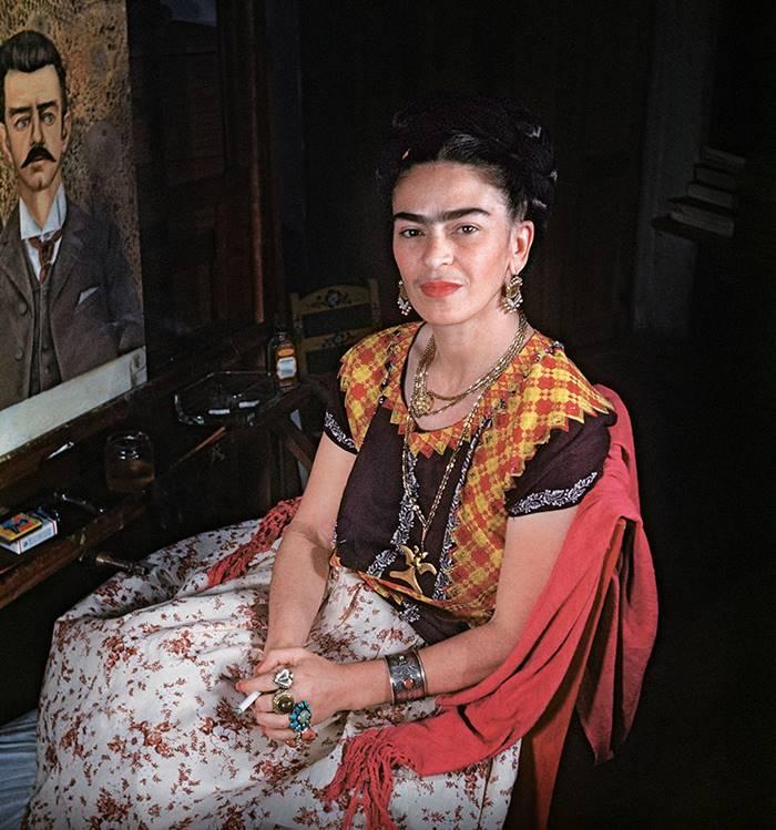 Color and Rare Photos of Frida Kahlo