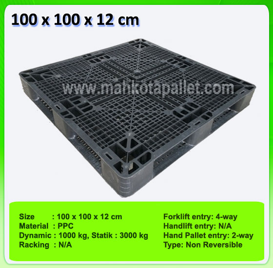 Jual Pallet Plastik Bekas Ukuran 100 x 100 x 12 cm