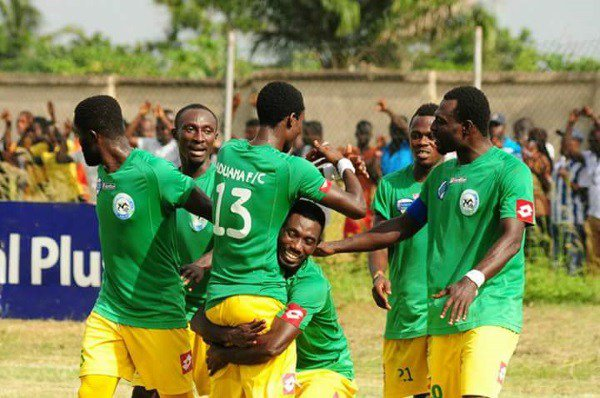 Aduana maintain winning streak with 2-0 beating of Hearts