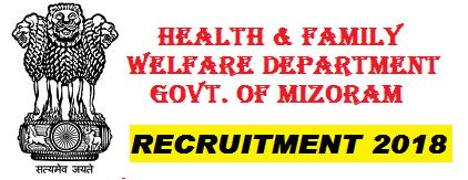 Mizoram govt jobs 2018