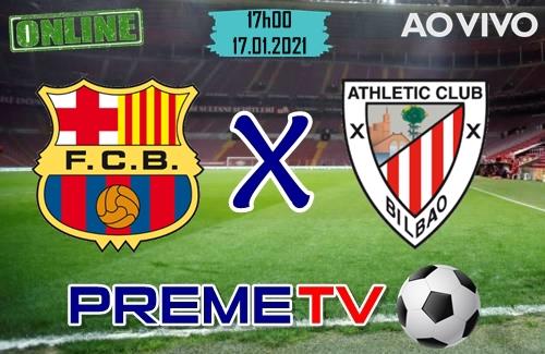 Barcelona x Athletic Bilbao Ao Vivo